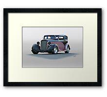 1935 Chevrolet Victoria Sedan Framed Print