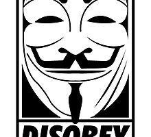 Anonymous Disobey by kwg2200