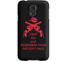 Keep KA - red edition Samsung Galaxy Case/Skin