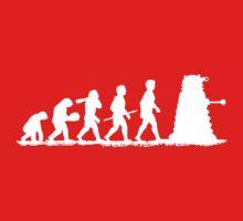 Evolution Dalek! One Piece - Short Sleeve