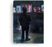 The Artist ( By Esther Jacks )  Canvas Print