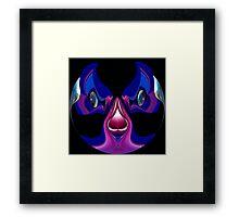 journey into blue fantasy 2 Framed Print