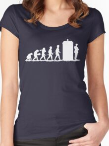 Evolution Doctor! Women's Fitted Scoop T-Shirt
