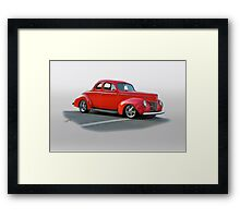 1940 Ford Super Deluxe Coupe Framed Print
