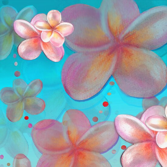 Frangipani Summer by Cate Townsend