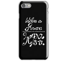 Like a face from ze past! iPhone Case/Skin