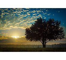 Autumn Sunrise Photographic Print
