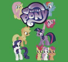 My Little Pony - Mane Cast One Piece - Short Sleeve