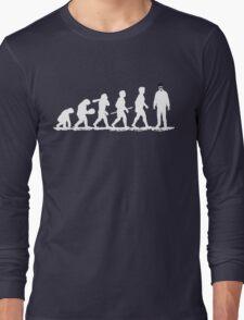 Evolution Heisenberg   Long Sleeve T-Shirt