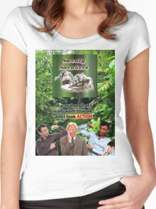 Its a Jungle Out There Women's Fitted Scoop T-Shirt