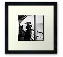 contemplating • istanbul, turkey • 2012 Framed Print