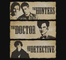 The Hunters, The Doctor and The Detective (Matt Smith version) by Shaun Beresford