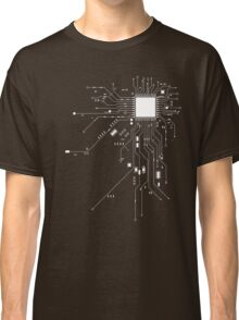 CPU Computer Heart White Classic T-Shirt