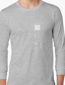 CPU Computer Heart White Long Sleeve T-Shirt