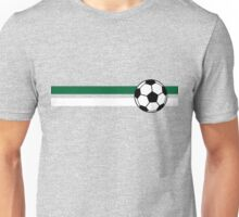Football Stripes Algeria Unisex T-Shirt