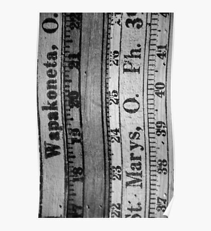Measure Up Poster