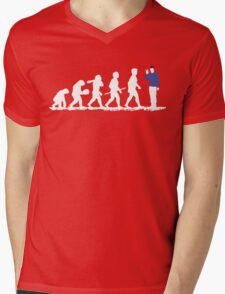 Evolution Spock! Mens V-Neck T-Shirt