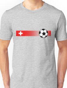 Football Stripes Switzerland Unisex T-Shirt
