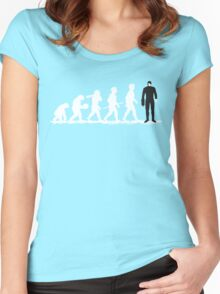 Evolution Borg! Women's Fitted Scoop T-Shirt