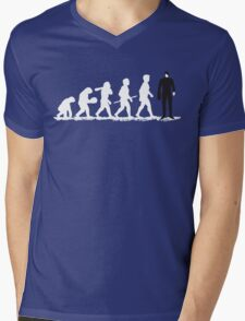 Evolution Borg! Mens V-Neck T-Shirt