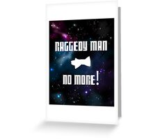 Raggedy Man, No More Greeting Card