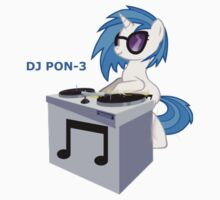 DJ Pon-3 Vynil Scratch Shirt by CrazyGamer093