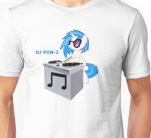 DJ Pon-3 Vynil Scratch Shirt Unisex T-Shirt