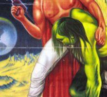Santo vs. the martian invasion Sticker