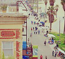 Sunday at Venice Beach - On the Boardwalk by Kasia-D