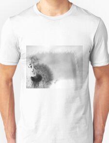 Black & White Dandelion  Unisex T-Shirt