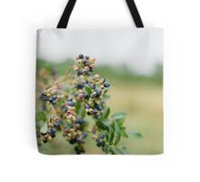 Blueberry High Tote Bag