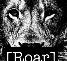 Lions Roar Sticker