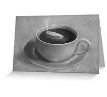 Whale in a Teacup  Greeting Card