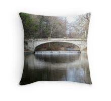 Vanderbilt Mansion Bridge Throw Pillow