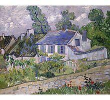 Vincent van Gogh - Houses at Auvers Photographic Print