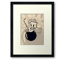 Wrecking ball Framed Print
