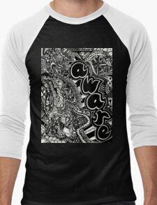 Be Aware Men's Baseball ¾ T-Shirt