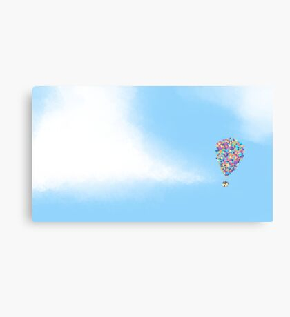 Up, up and away Canvas Print