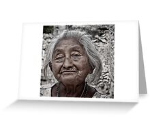 Yucatan Elder Greeting Card