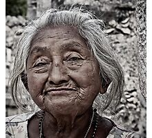 Yucatan Elder Photographic Print