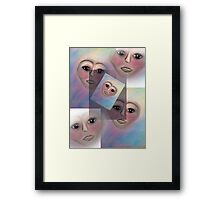 Patience is a virtue.... Framed Print