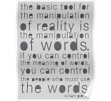 William Gibson Quote Poster Poster