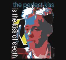 "New Order Band ""The Kiss of Death"" Shirt by Shaina Karasik"