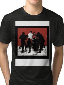 white blood cells stripes Tri-blend T-Shirt