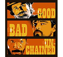 The Good, the Bad and the Unchained Photographic Print