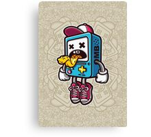 Bad BMO Cartoon Character Canvas Print