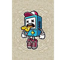 Bad BMO Cartoon Character Photographic Print