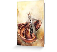 Elvenking Thranduil  Greeting Card