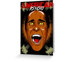 American Psycho Thriller Edition Greeting Card