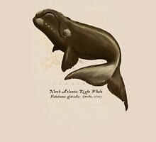 North Atlantic Right Whale Unisex T-Shirt
